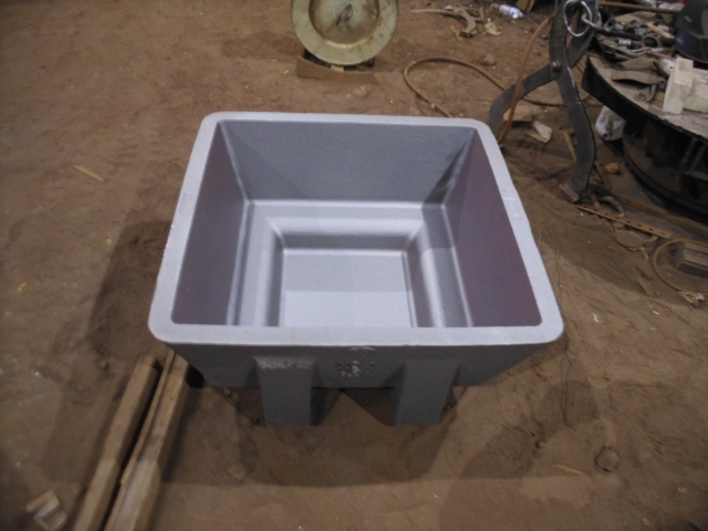 1200 Sow mold Standard with 4 Way fork pockets