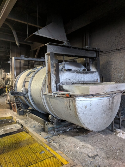 USED Warkick Tilting Barrel Furnace