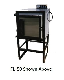Electric 200lbs Aluminum Capacity Kiln - Front Loading