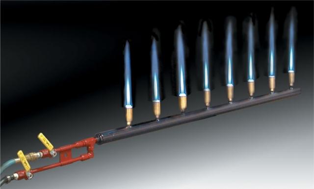 Preheat gas burner mixer dy kast