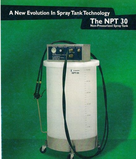 SPRAY TANK  NON-PRESSURIZED