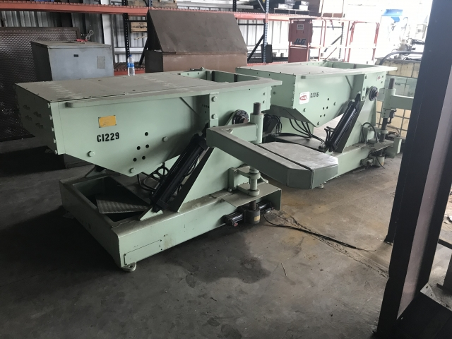 USED PERMANENT MOLD MACHINES