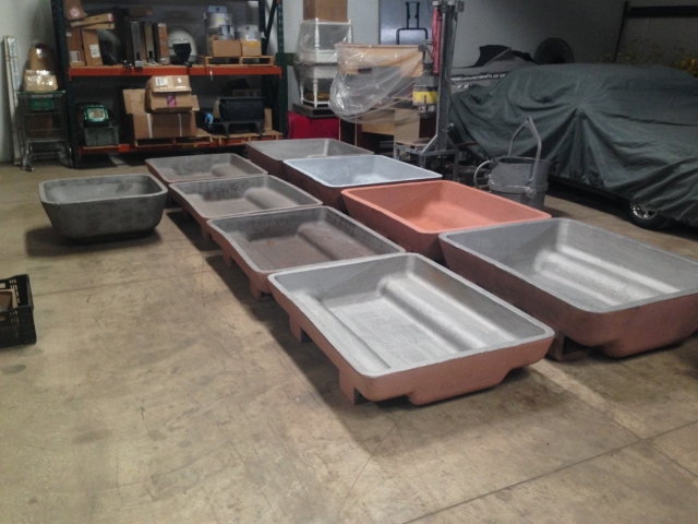 USED SOW MOLDS