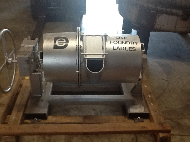 Cylindrical Transfer Ladle